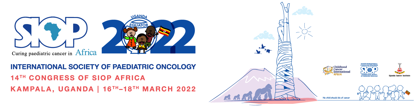 The 14th SIOP Africa congress will take place from January 27–29th 2021 in Entebbe Uganda